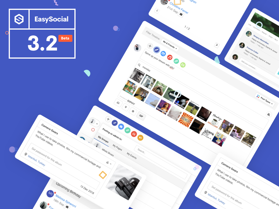 EasySocial 3.2 Beta Available Today