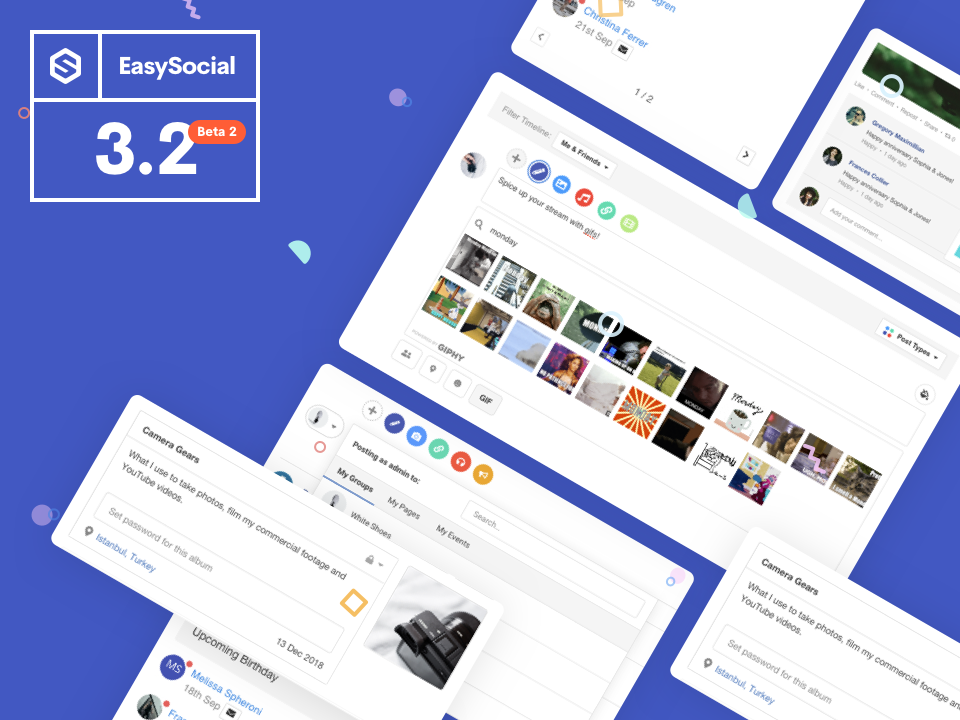 EasySocial 3.2 Beta 2 Released