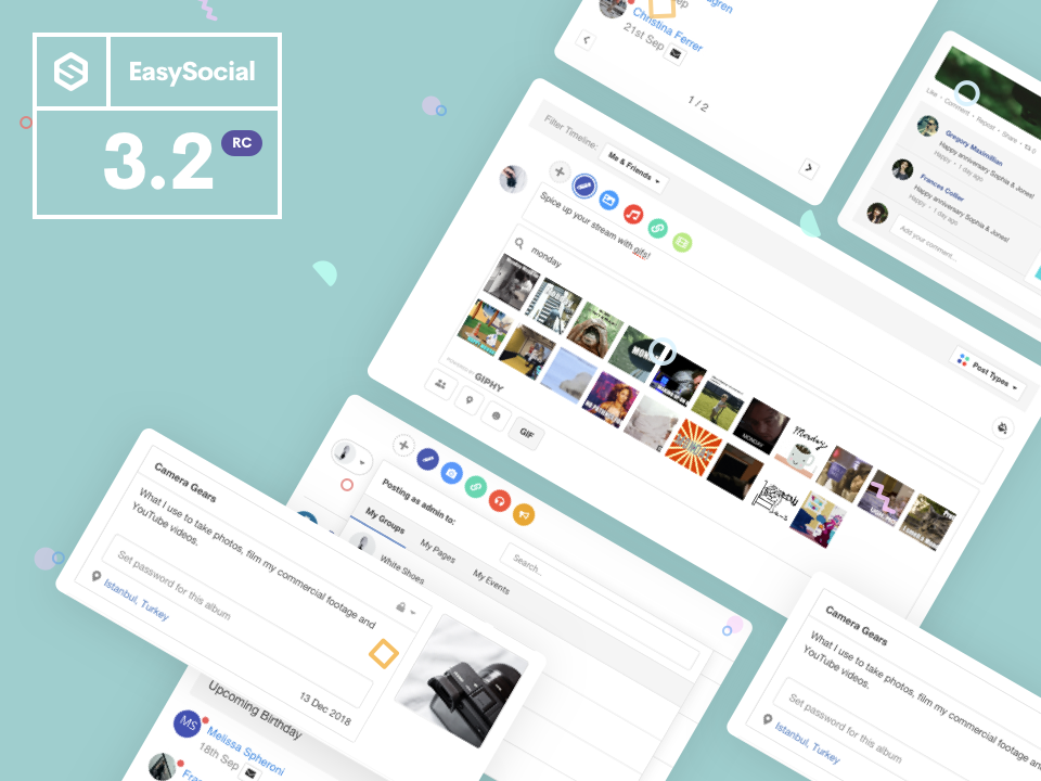 EasySocial 3.2 RC Released