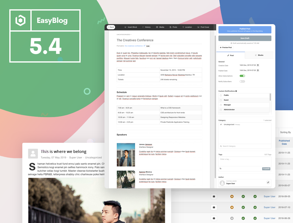EasyBlog 5.4 Beta Available Today