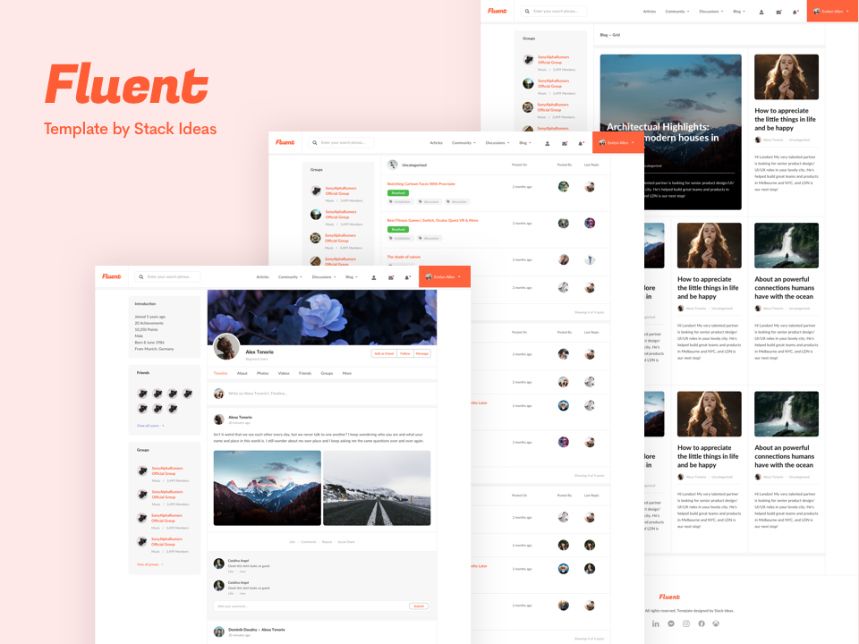Introducing Our New Joomla Template , Fluent