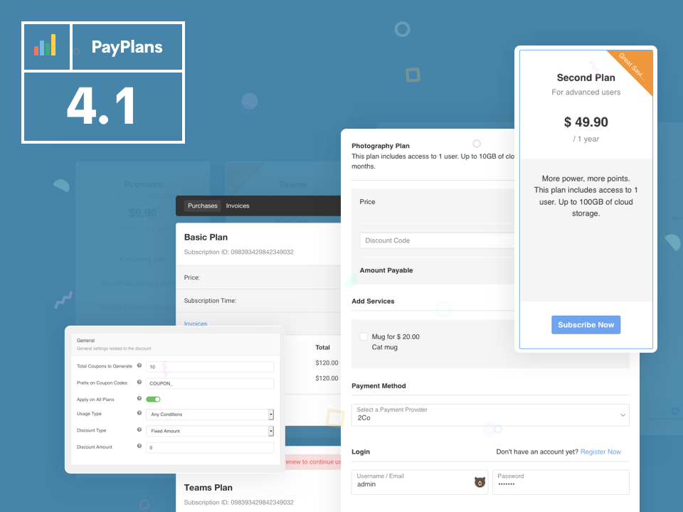 PayPlans 4.1 Is Now Available