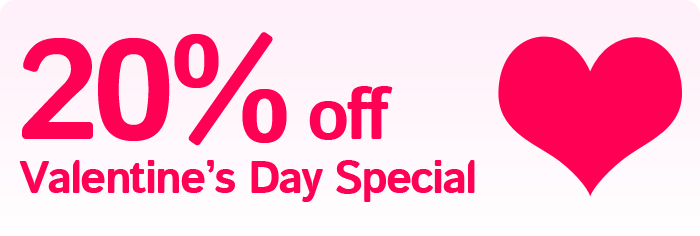 Valentine's Day Specials from StackIdeas
