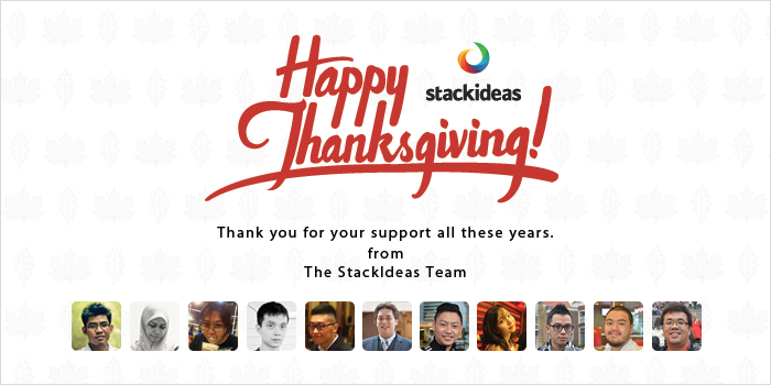 Happy Thanksgiving to all fans of our Joomla extensions