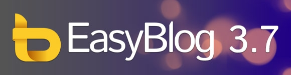 EasyBlog 3.7 is now Joomla 3.0 ready