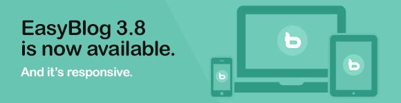 Joomla blogging gets better - EasyBlog 3.8 is out!
