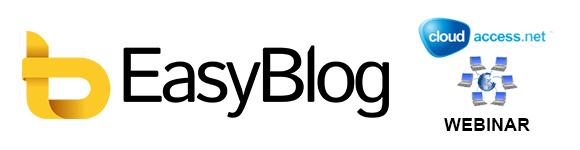Webinar with CloudAccess: Learn How to Use EasyBlog