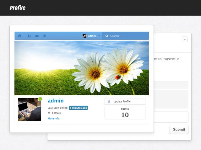 EasySocial - Profile