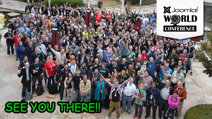 See you at the Joomla World Conference 2013!