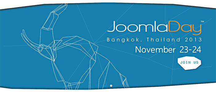 Meet us at JoomlaDay Thailand 2013!