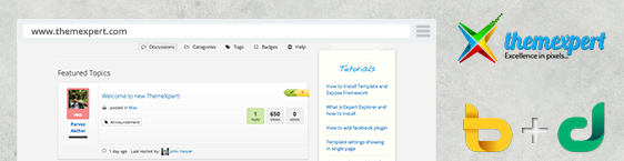 Joomla template creator ThemeXpert has a new website
