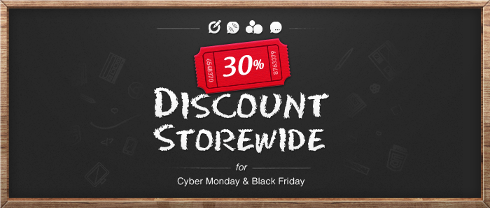 Black Cyber Monday Sale for our Joomla friends!