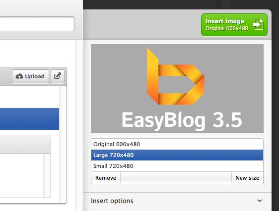 Development updates for EasyBlog 3.5