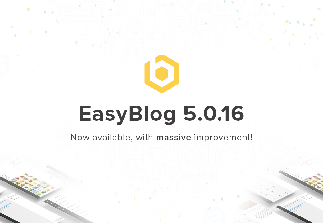 EasyBlog 5.0.16 Available Now!