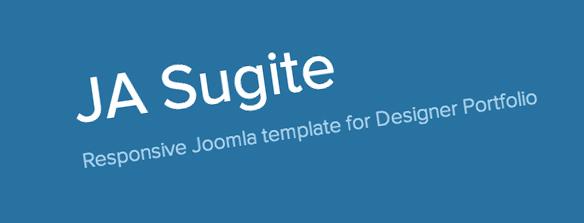 JA Sugite : A Portfolio Joomla Template from JoomlArt.
