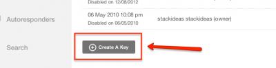Create API key for Mailchimp EasySocial