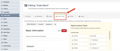 EasySocial Custom Field for MailChimp
