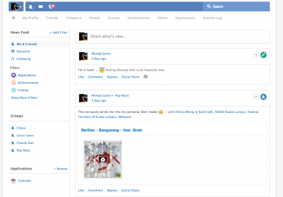 EasySocial New Theme Frosty