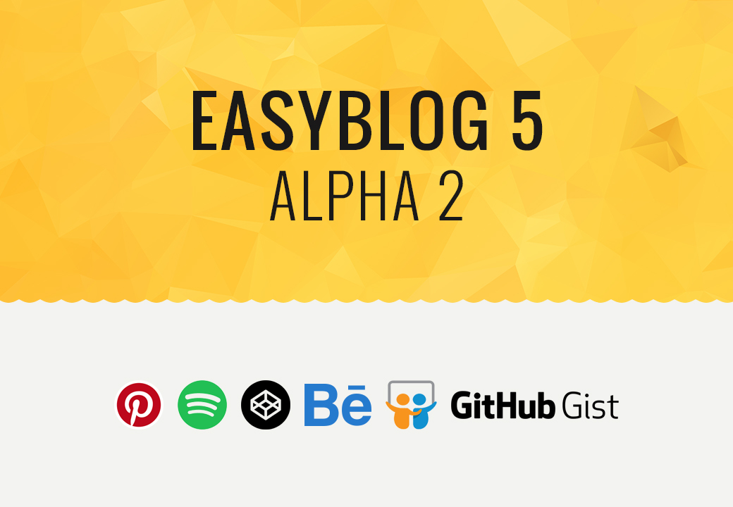 EasyBlog 5 Alpha 2, With New Blocks