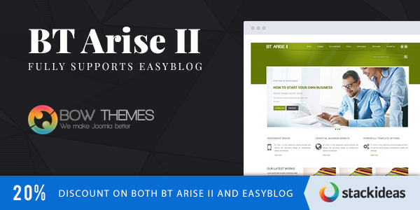 BT Arise II - New Template From BowThemes