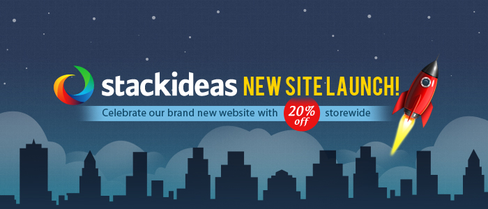 Stack Ideas's Revamped and Relaunched Site.