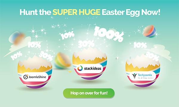Joomla Easter Egg Hunt