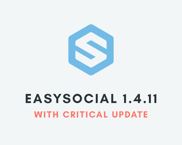 Critical Update For EasySocial