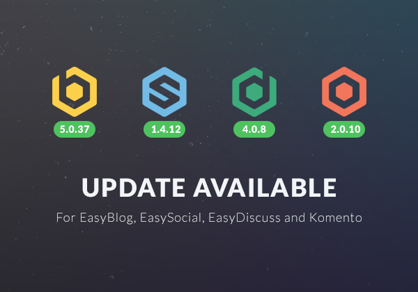 Updates Available For All Our Joomla Extensions