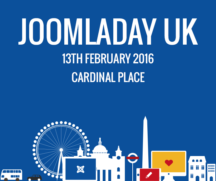 Get Admission Tickets to Joomla Day UK 2016