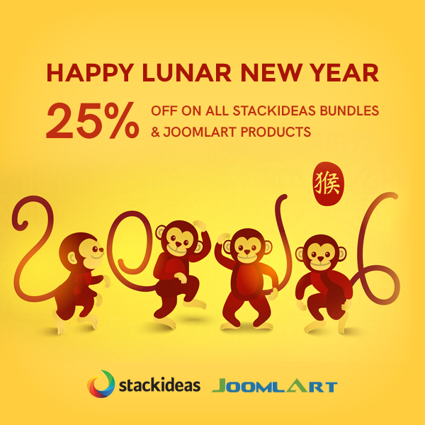 Lunar New Year Special with Joomlart