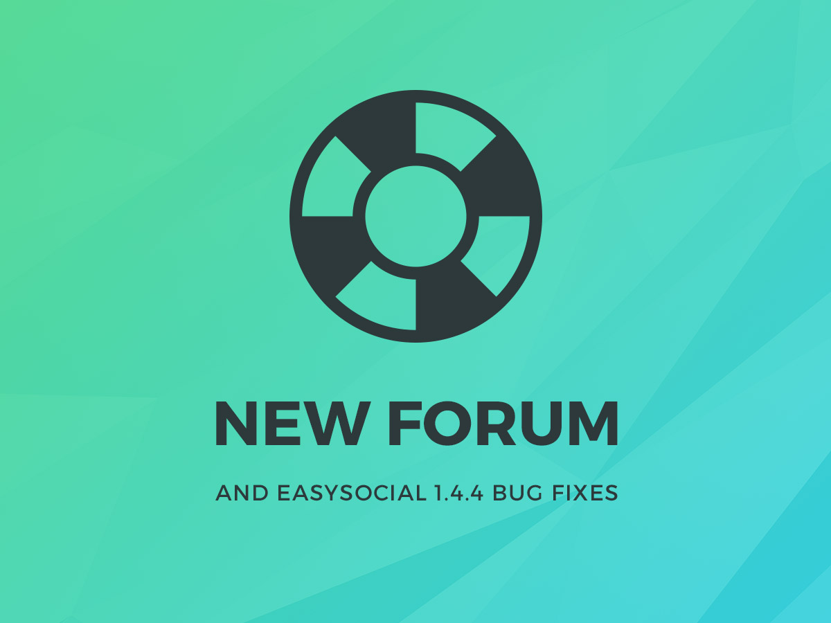 StackIdeas New forum and EasySocial 1.4.4 Bugs Fixed