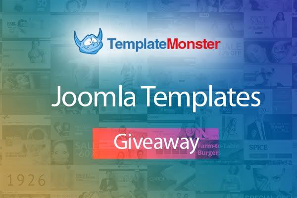 Exclusive Giveaway of Three TemplateMonster Joomla Templates