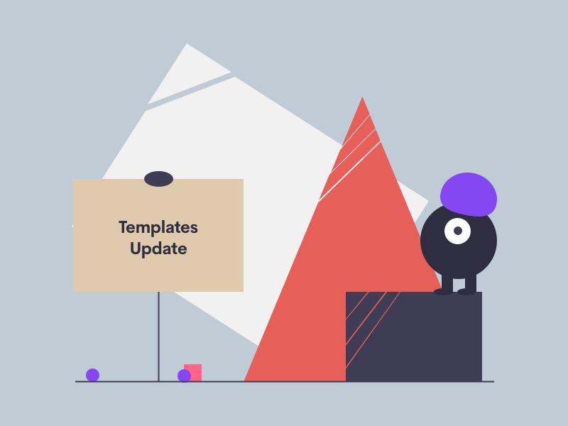 Template Updates: Office, Fluent & Elegant