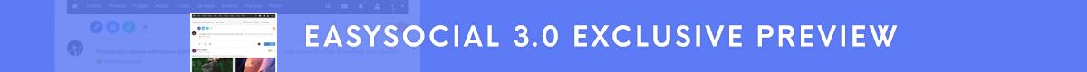EasySocial 3.0 Preview