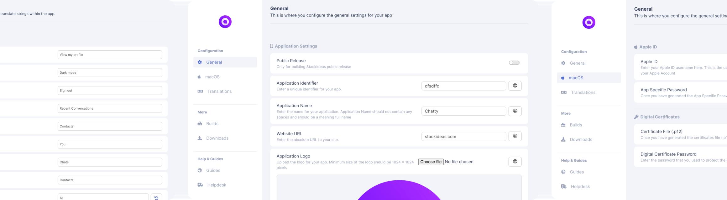 ConverseKit Desktop App Odin Build Manager