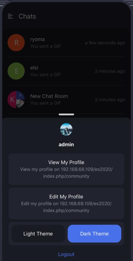 Conversation Native App Preview