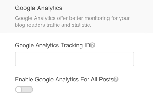 EasyBlog Analytics Tracking