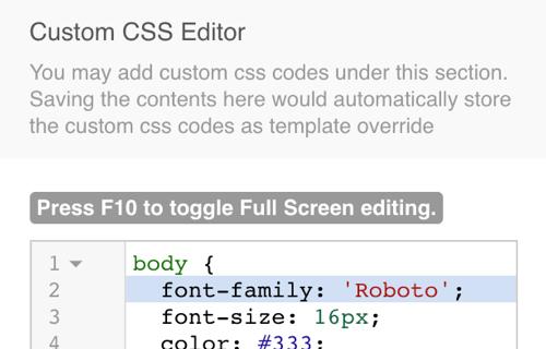 EasyBlog Template Editor