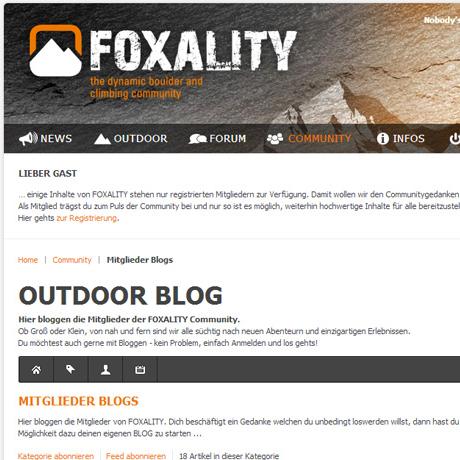 EasyBlog - Foxality.org
