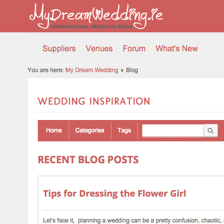 EasyBlog - My Dream Wedding