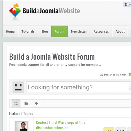 EasyDiscuss - Build A Joomla Website
