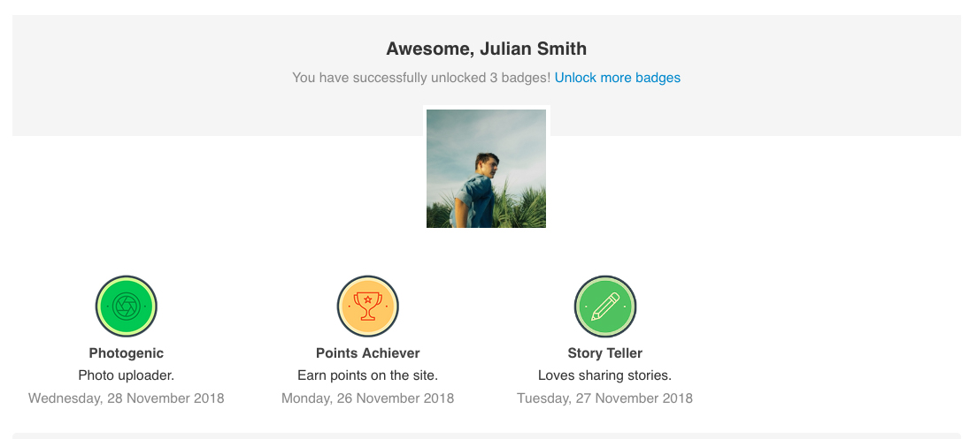 EasySocial - Achievements and Badges