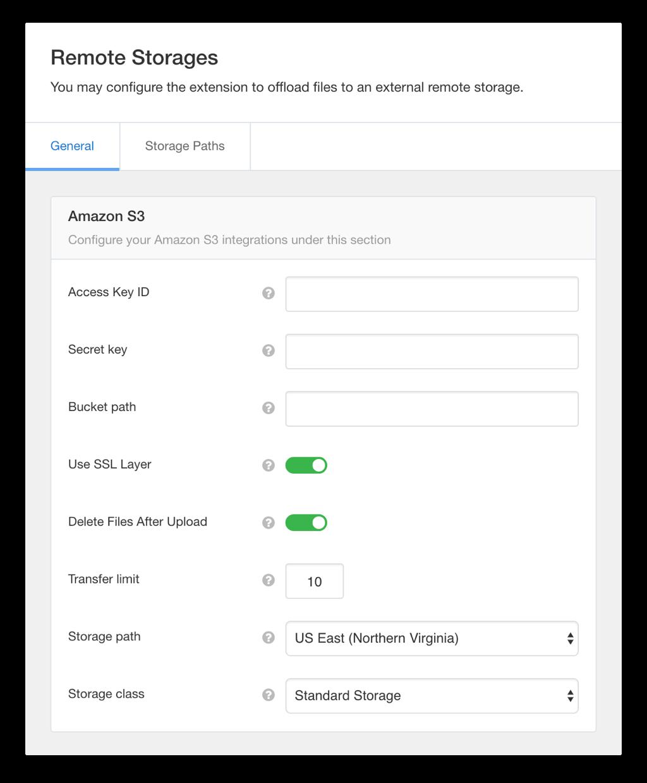 EasySocial - Remote Storage