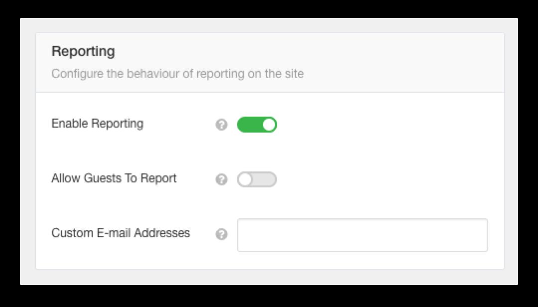 EasySocial - Reporting