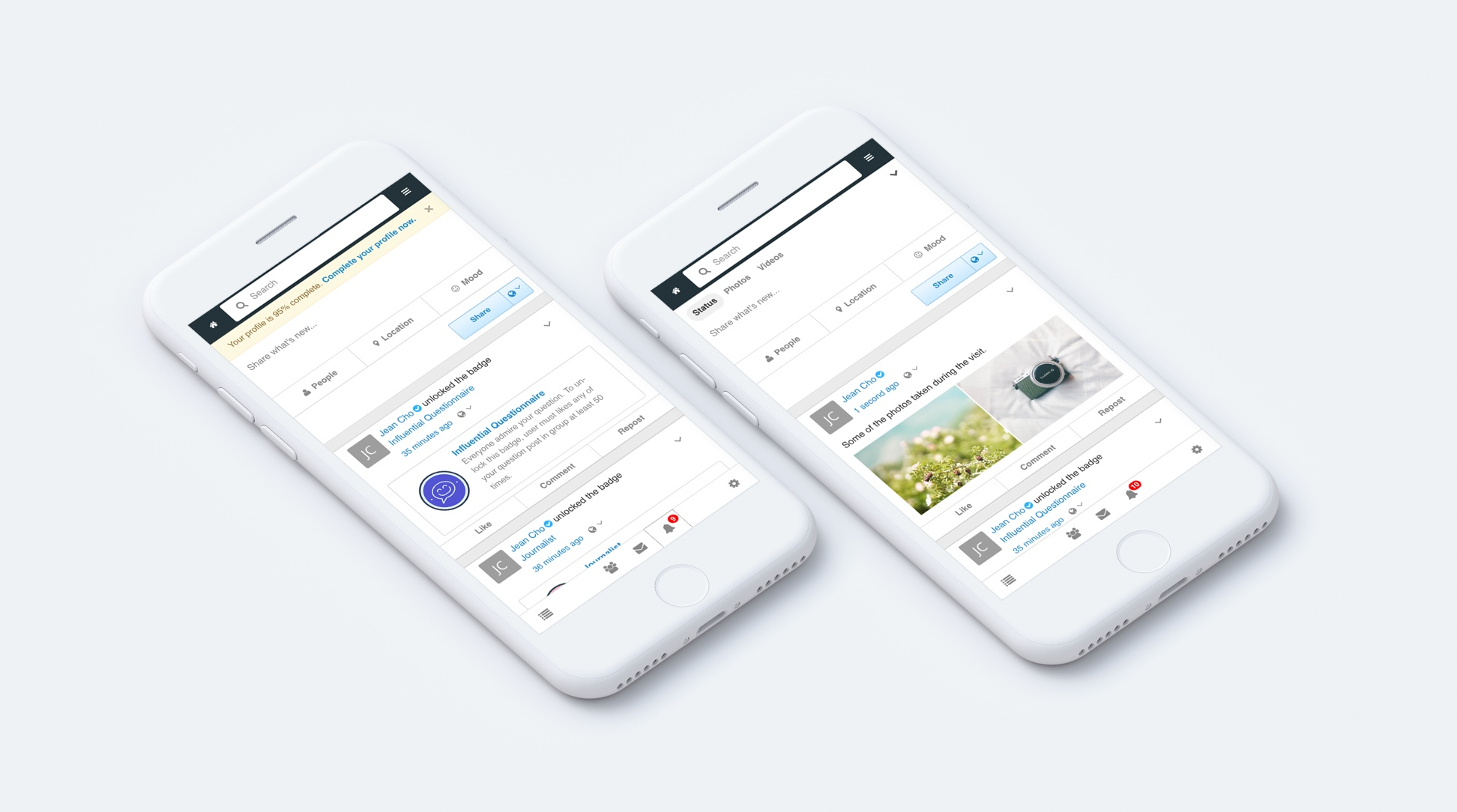 EasySocial - Mobile Ready