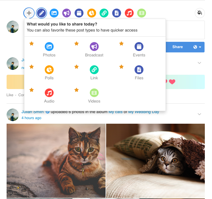 EasySocial - Story Form