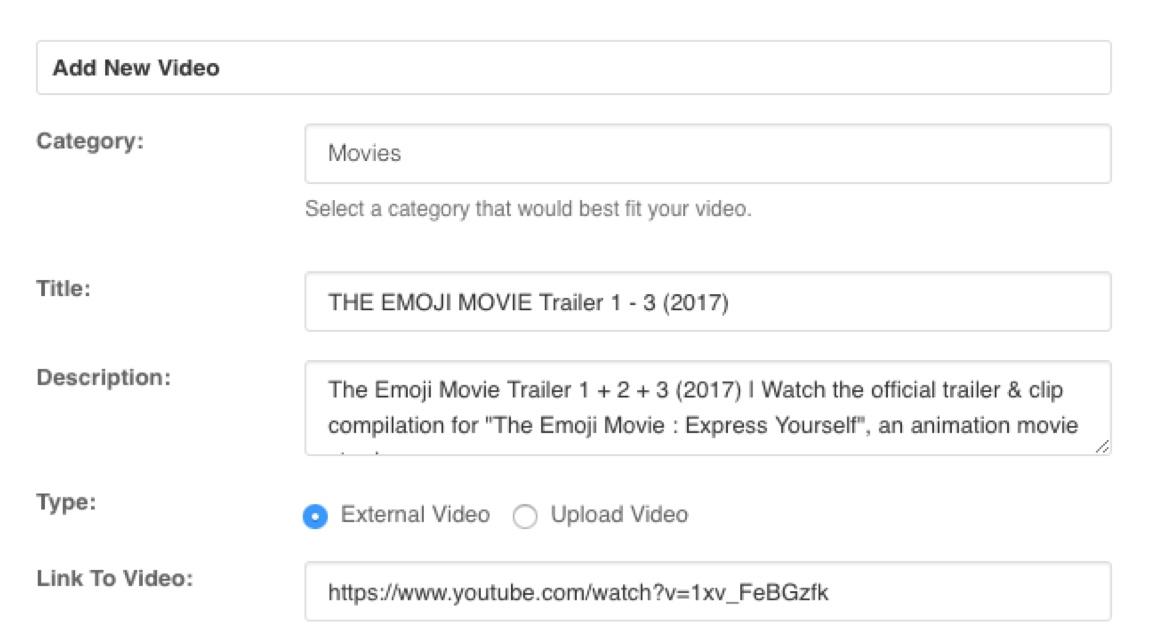 EasySocial - Video uploads