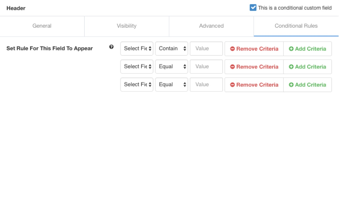 EasySocial - Conditional Custom Fields