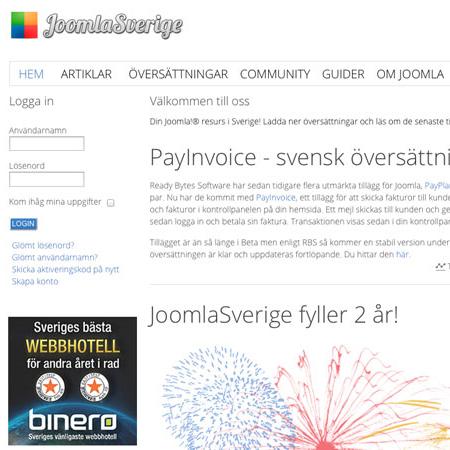 Komento - Joomla Sverige