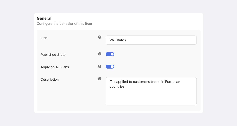 PayPlans Taxation Screenshot